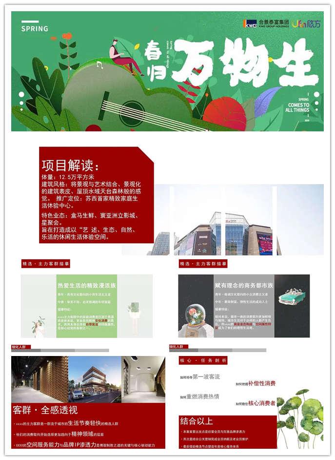 2020商业广场全年会员营销活动方案,打造成自然、乐活的休闲生活体验空间